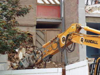building demolition south east